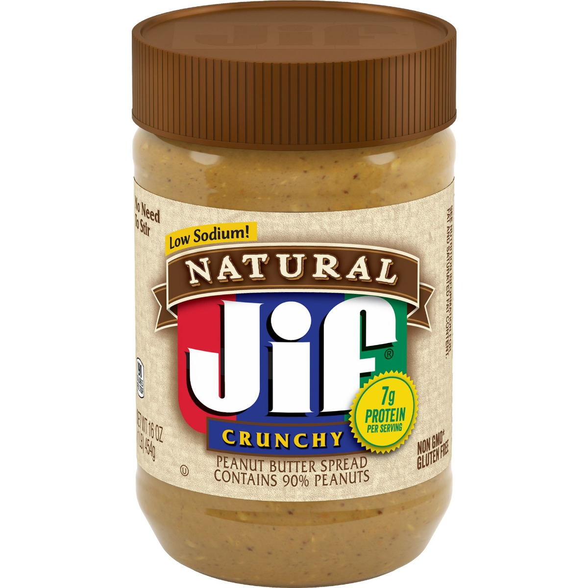 Jif® Natural Crunchy Peanut Butter Spread