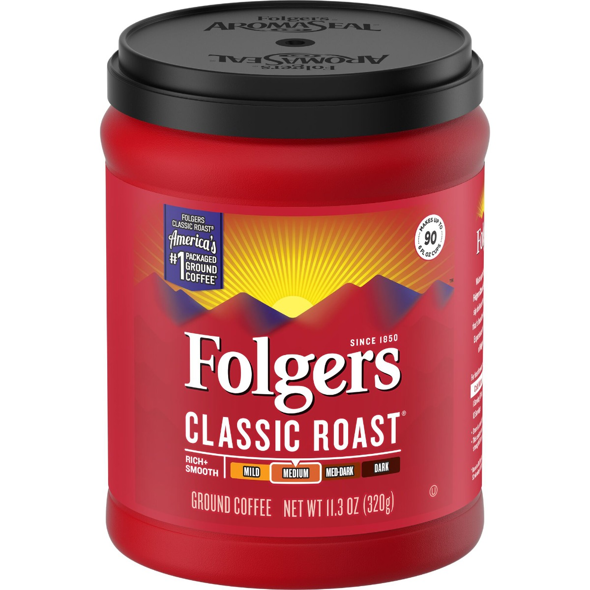 Folgers Classic Roast Canister