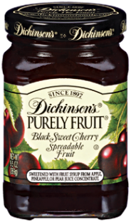 Dickinson's® Purely Fruit® Black Sweet Cherry Spreadable Fruit (9.5 oz)
