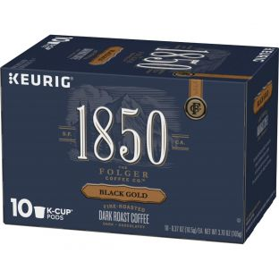 1850™ Black Gold;Dark Roast Coffee;K-Cup® Pods (10 ct)