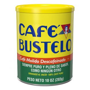 Café Bustelo® Espresso Style Ground Decaf Coffee 10 oz. Can