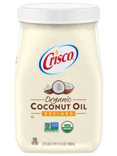 Crisco® Refined Organic Coconut Oil (27 oz)