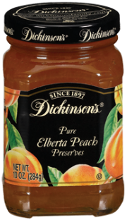 Dickinson's® Elberta Peach Preserves (10 oz)