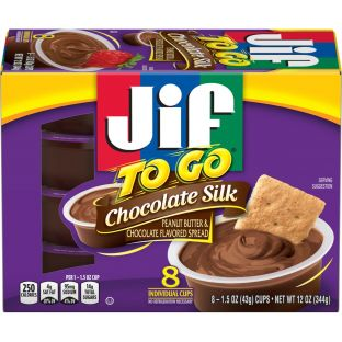 Jif To Go Chocolate Silk Peanut Butter & Chocolate Flavored Spread