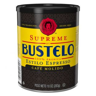 Supreme by Bustelo® Espresso Style Ground Coffee 10 oz. Can