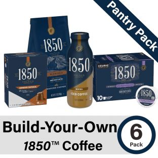 Build-Your-Own 1850 Coffee Pantry Pack of 6