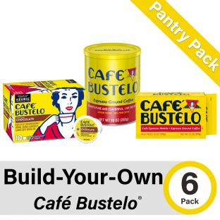 Build-Your-Own Cafe Bustelo Pantry Pack of 6