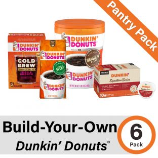 Build-Your-Own Dunkin' Donuts Pantry Pack of 6