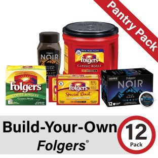 Build-Your-Own Folgers Pantry Pack of 12