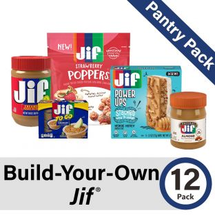 Build-Your-Own Jif Pantry Pack of 12