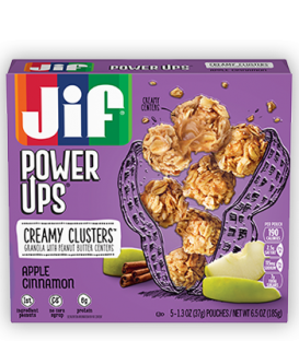 Jif® Power Ups® Creamy Clusters;Apple Cinnamon Flavored (5 Count)