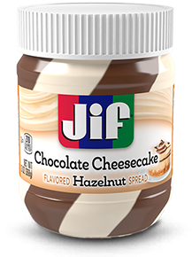 Jif® Chocolate Cheesecake Flavored Hazelnut Spread (13 oz)