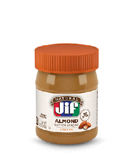 Jif® Natural Creamy Almond Butter Spread (12 oz)