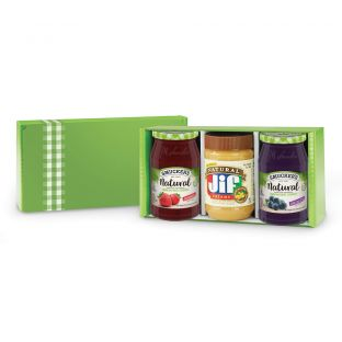Smucker and Jif Natural Spreads Gift Box