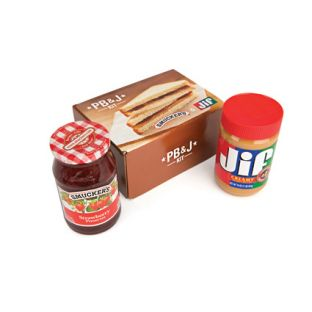 Smucker's and Jif Peanut Butter and Jelly (or Jam or Preserve) Gift Box
