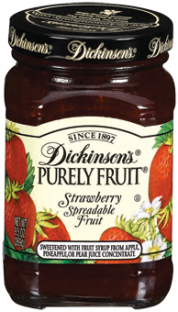 Dickinson's® Purely Fruit® Strawberry Spreadable Fruit (9.5 oz)