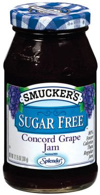 Smucker's® Sugar Free Concord Grape Jam (12.75 oz)