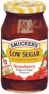 Smucker's® Low Sugar™ Strawberry Preserves (15.5 oz)