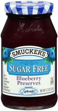 Smucker's® Sugar Free Blueberry Preserves (12.75 oz)