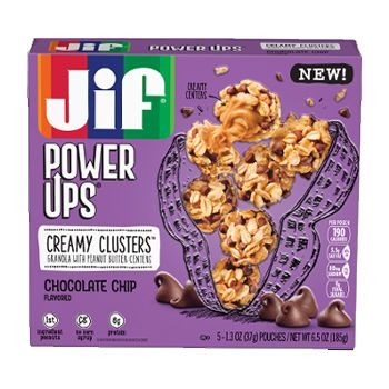 Jif® Power Ups® Creamy Clusters;Chocolate Chip (5 Count)