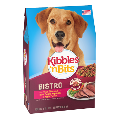 Kibbles 'n Bits® Chef's Choice Bistro Oven Roasted Beef Flavor Dry Dog Food 3.5 lb Bag
