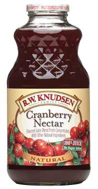 R.W. Knudsen Family® Cranberry Nectar Juice;32 oz.