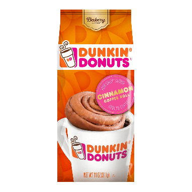 Dunkin' Donuts® Bakery Series® Cinnamon Coffee Roll Flavored Coffee (11 oz)