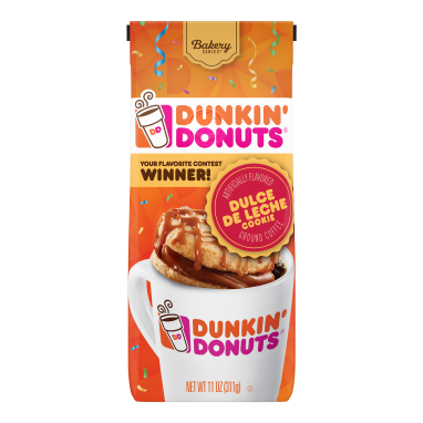 Dunkin' Donuts® Bakery Series® Dulce de Leche Cookie Flavored Coffee (11 oz)