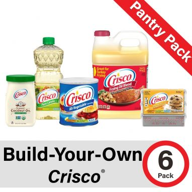 Build-Your-Own Crisco Pantry Pack of 6