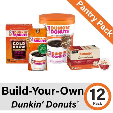 Build-Your-Own Dunkin' Donuts Pantry Pack of 12