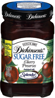 Dickinson's® Sugar Free Cherry Preserves(8 oz)