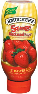 Smucker's® Squeeze™  Reduced Sugar Strawberry Fruit Spread (17.4 oz)