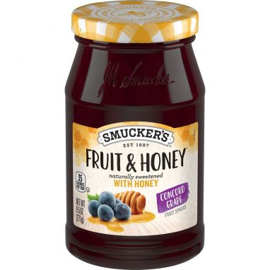 Smucker's® Fruit & Honey™ Concord Grape (9.5 oz)