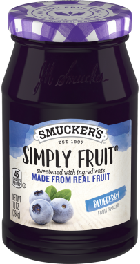 Smucker's® Simply Fruit® Blueberry Spreadable Fruit (10 oz)