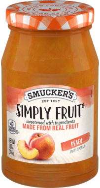 Smucker's® Simply Fruit® Peach Spreadable Fruit (10 oz)