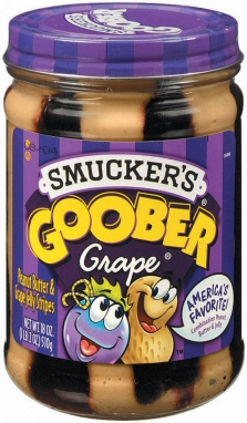 Smucker's® Goober Grape® Peanut Butter & Jelly Stripes (18 oz)