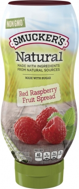 Smucker's® Natural Squeeze™ Red Raspberry Fruit Spread (19 oz)