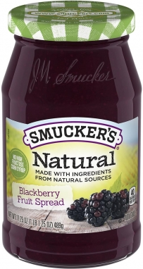Smucker's® Natural Blackberry Fruit Spread (17.25 oz)