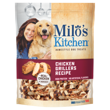 Milo's Kitchen® Chicken Grillers Recipe Dog Treats;15 oz.