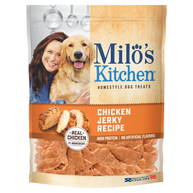 Milo's Kitchen® Chicken Jerky Recipe Dog Treats;15 oz.