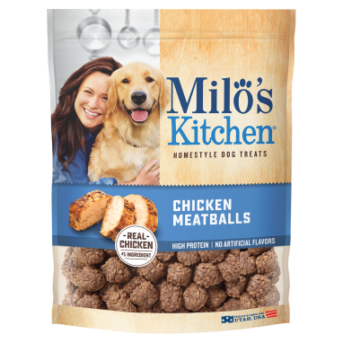 Milo's Kitchen® Chicken Meatballs Dog Treats;3 oz.