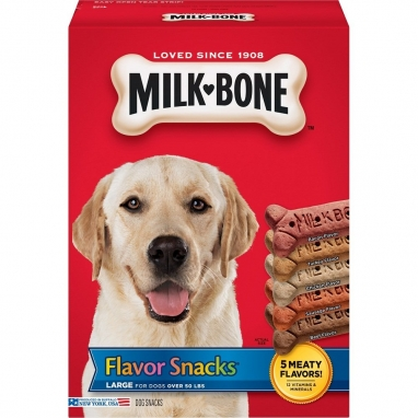 Milk-Bone® Flavor Snacks Dog Biscuits - for Large-sized Dogs (60 oz)