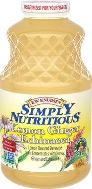 R.W. Knudsen Family® Lemon Ginger Echinacea;32 oz.