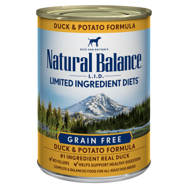 Natural Balance® L.I.D. Limited Ingredient Diets® Duck & Potato Canned Dog formula 13.2 Oz. Can
