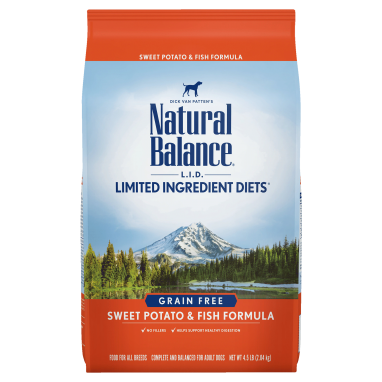 Natural Balance® L.I.D. Limited Ingredient Diets® Sweet Potato & Fish Dry Dog formula 13 lb. Bag