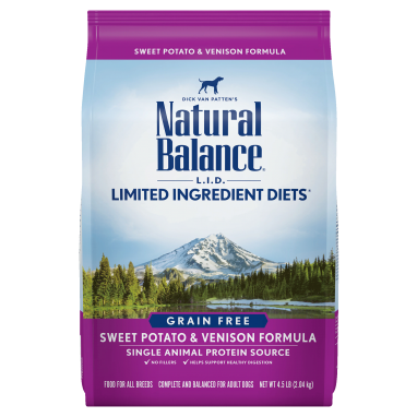 Natural Balance® L.I.D. Limited Ingredient Diets® Sweet Potato & Venison Dry Dog formula;13 lb. Bag