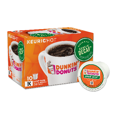 Dunkin' Donuts® Dunkin' Decaf K-Cup® Pods (10 Count)