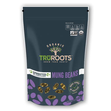 truRoots® Organic Sprouted Mung Beans (10 oz)