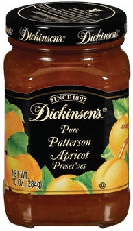 Dickinson's® Patterson Apricot Preserves (10 oz)