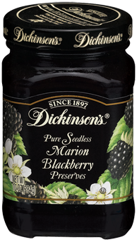 Dickinson's® Seedless Marion Blackberry Preserves (10 oz)